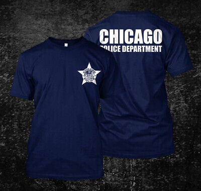 chicago police department  - Custom men's back and front T-Shirt