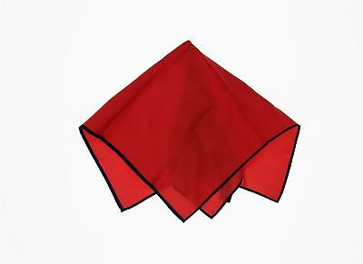 e671a2f188b3ab TED BAKER LONDON Red With Dark Blue Contour Silk Pocket Square 140113