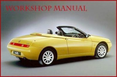 Pdf Alfa Romeo Gtv / Spider 916 Professional Workshop Service Manual