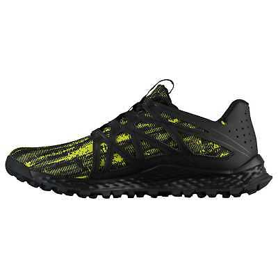 3c81e4e185246 NEW adidas Men Vigor Bounce M Trail Runner Shoe Black Shock Slime Black SZ