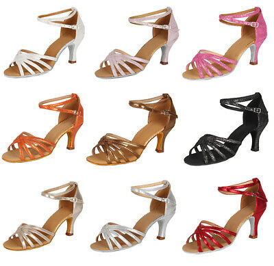 Brand New Ballroom heeled Latin Dance Shoes for Women/Children/Girls/Tango&Salsa