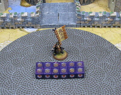 Hatamoto Taro Einar Flag Bearer mini + 12 dices Crest of the Valkyrie Heroscape