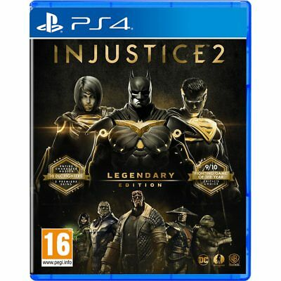Sony PlayStation P4READWAR21387 Injustice 2 - Legendary Edition - Day 1 For PS4