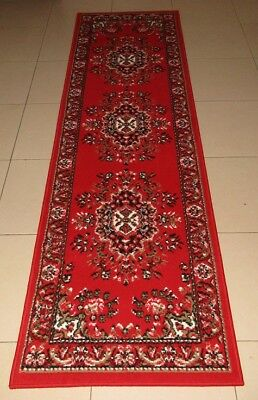 New Persian Traditional Design Floor Hallway Runner Rug 67X230Cm