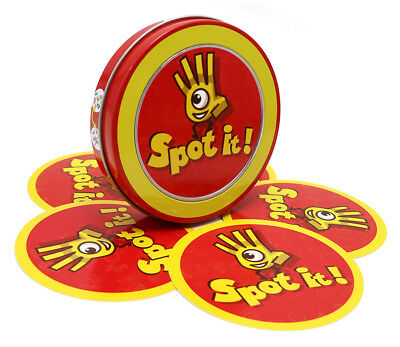 SALE! Spot it Kids Game High Quality Paper Dobble it for Family Game Cards Game