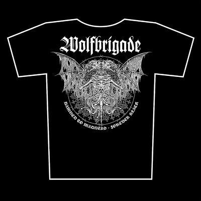 WOLFBRIGADE - SHIRT # 3, printed on fruit of the loom, size S - XXL, wolfpack