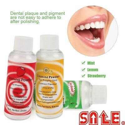 130g Dental Prophy Mate Air jet Polisher Prophy Powder Cleaning Powder LJ