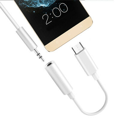 USB Adapter Type C Port to 3.5mm Audio Jack Earphone Cable USB 3.1 for letv MO