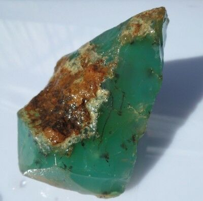 Australian chrysoprase mineral specimen collection carving lapidary rough TB312