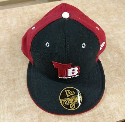 wholesale dealer 489b1 1e1d2 New Vintage NFL New Era TAMPA BAY BUCCANEERS Fitted Hat Cap 7 3 4 Fifty