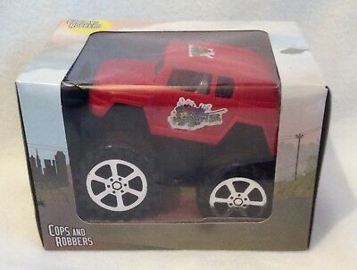 Cops And Robbers - Monster Truck - Red - Brand New