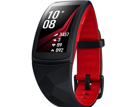 Telstra SAMSUNG GEAR FIT2 PRO LARGE - BLACK/RED