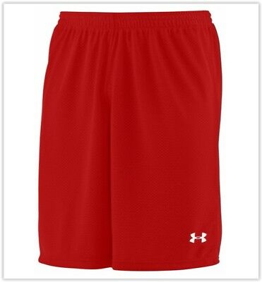 Under Armour Double-Double Shorts Red 1241904-600 NWT SG0087