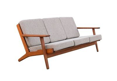 Authentic TEAK Danish Modern Sofa GE 290 design Hans J Wegner for Getama 60s 70s