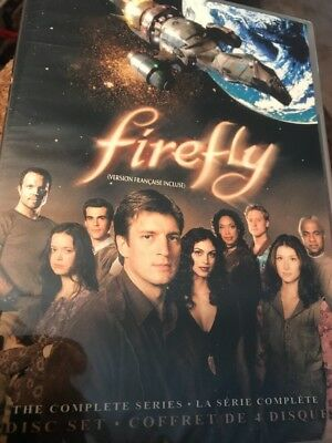 Firefly The Complete Series (DVD, 4-Disc Set) Factory Sealed FAST SHIPPING