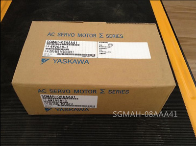 Yaskawa Ac Servo Motor Sgmah-08Aaa41 New Original Free Expedited Shipping