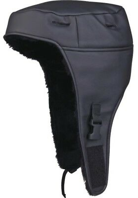 DELTA PLUS helmet winter cap liner - leatherette with polyester warm lining
