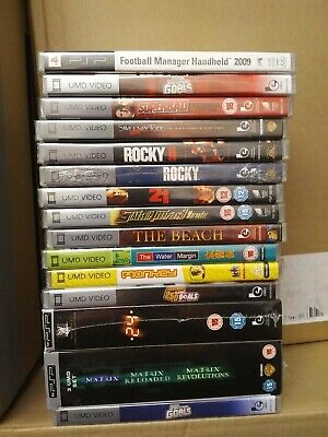 Brand New And Sealed 20 Psp Umd Films Movies Joblot Bundle Sameday Dispatch !!