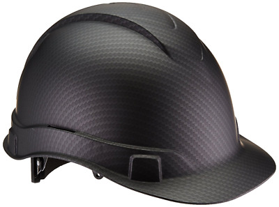 Ridgeline Cap Hard Hat Gray 4 Point Ratchet Suspension Black Graphite Pattern
