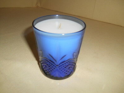 NOS Vintage Avon Royal Sapphire Poured Candle 2 Available!
