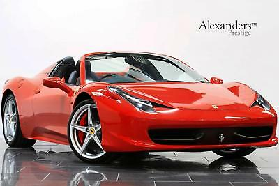 2013 Ferrari 458 Spider DCT Petrol red Automatic
