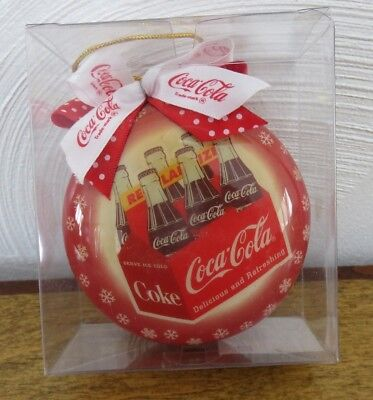 Coca Cola Red Ornament, 1997, 6-Pack Coke Bottles #268941