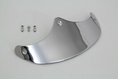 new smooth chrome front fender trim tip 90 - 2017 Harley Davidson softail fatboy