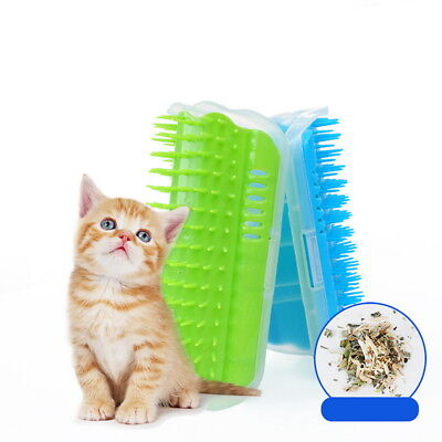 Pet Cat dog Self Groomer Brush Wall Corner Grooming Massage Comb Cat Toy GIFT