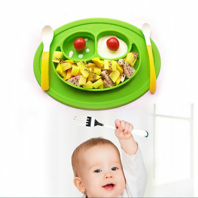 Happy Mat suction silicone plate stable bowl Toddler infant kids baby Dishes