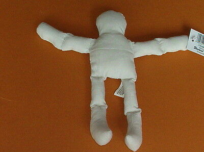 "WHOLESALE LOT 6 NEW DARICE Natural MUSLIN Stuffed DOLL BODIES 5"" TALL DOLLS NIP"