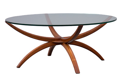 """Spider legs"" coffee table Mid-century Modern danish design 50s 60s 70s"