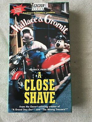 Wallace & Gromit A Close Shave VHS