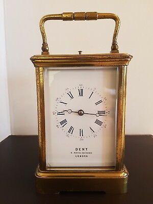 Large Dent repeater Carriage clock