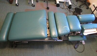 Lloyd Vintage Automatic Hydraulic Chiropractic Table Green