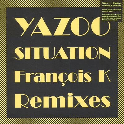 """YAZOO Situation Francois k Remix 2018 RSD 2018 Dub Mute 12"""" NEW and SEALED rare"""