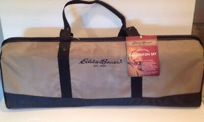 Badminton Set Complete Eddie Bauer brand with Carry Bag Complete Set NWTS