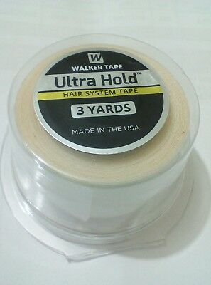 """ULTRA HOLD TAPE FOR WIGS/TOUPEES *extra strong hold* (1"""" x 3 yards) size"""