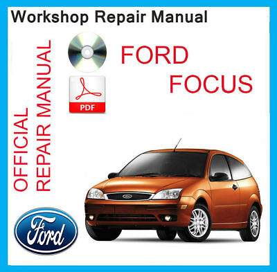 ford focus 2000 service manual pdf