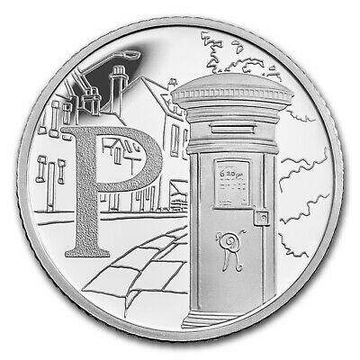 2018 Great Britain Silver 10p Great British Coin Hunt Proof (P) - SKU#163576