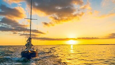 Digital Picture Image Photo JPEG Wallpaper Desktop Background FL Keys Sailboat.