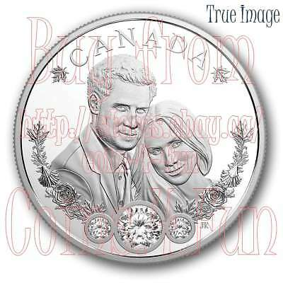 2018 The Royal Wedding of Prince Harry & Ms Meghan Markle - $20 Pure Silver Coin