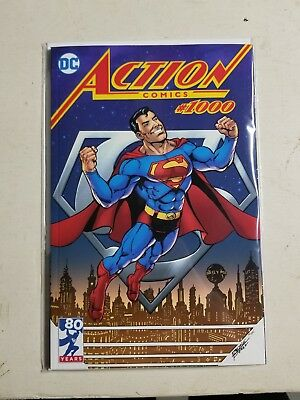 Action Comics #1000 George Perez Variant Limited Edition 2,500!