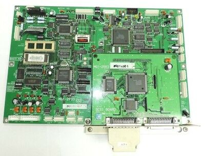 Canon MS 500 Microfilm Scanner Main Control Processing Board MG1-2933 & MG1-2583