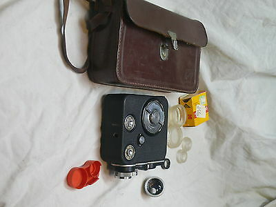 Eunig     C3  8mm Movie Camera