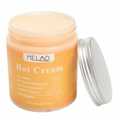MELAO 250g Anti Cellulite Hot Cream Slimming-Deep Muscle Relaxation Body sl G3N6