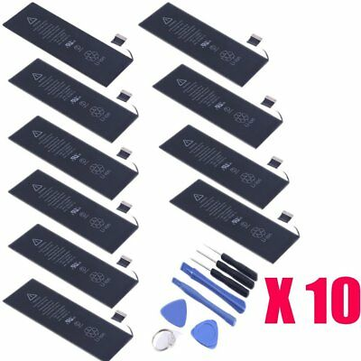 10x 1560mAh Li-ion Internal Battery Replacement for iPhone 5S + Free Tools BP