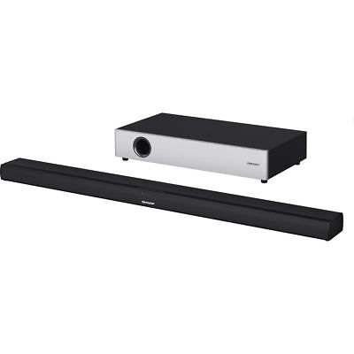 Sharp TV HT-SBW160 360 Watt Soundbar Bluetooth with Wireless Subwoofer - Black