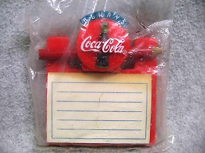 Always Coca Cola Coke Refrigerator Notepad Magnetic NIP NOS 1995