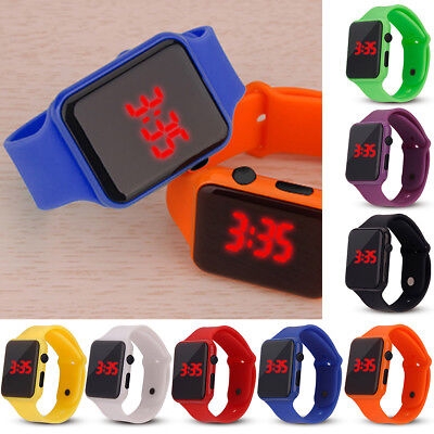 Practical Electronic Digital Kids/Child/Boy's/Girl Waterproof LED Display Watch