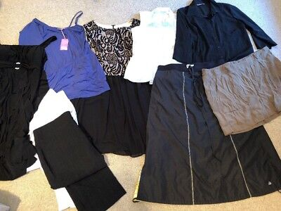 Bulk New With Tags & Like New Designer Plus Clothing Dresses Tops Pants Skirts